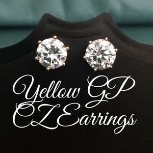 🆕18K Gold Filled CZ Earrings⭐️